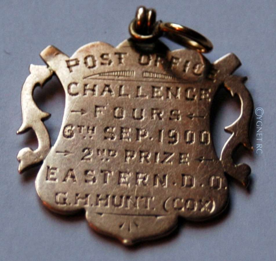 The Post Office Challenge Cup Medal, 1900