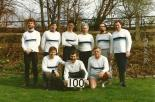 The Captains' Eight: Winners of the Veteran pennant in 1990 Business Houses Head