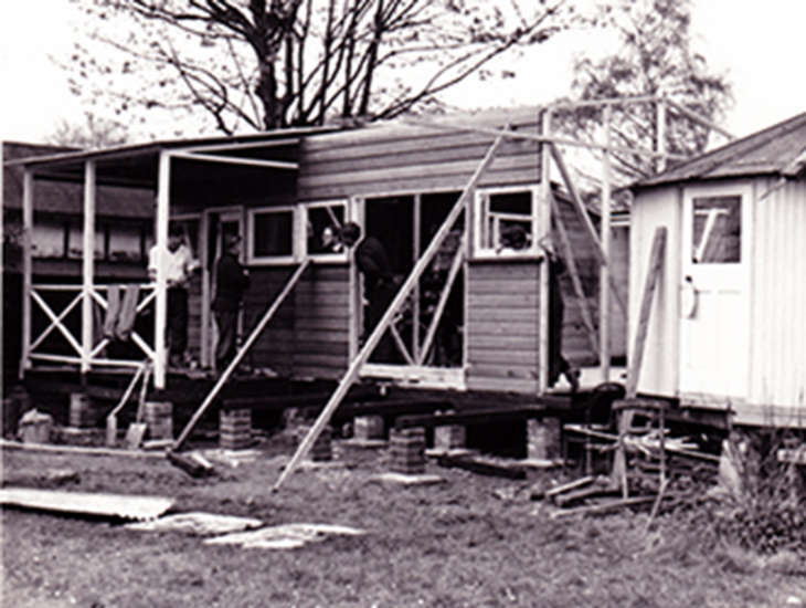 Rebuilding - early 1960s