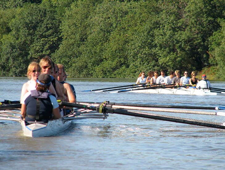 Mixed eights